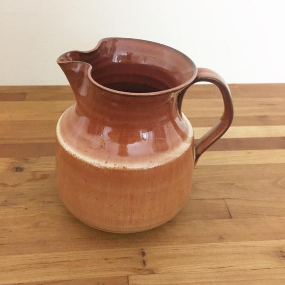 Boho Handmade Decor Ceramic Creamer Pitcher